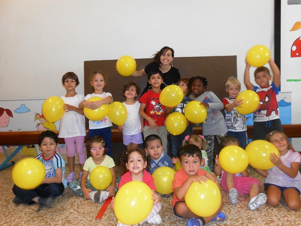 gialli palloncini